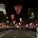 Passeig de Gràcia di sera