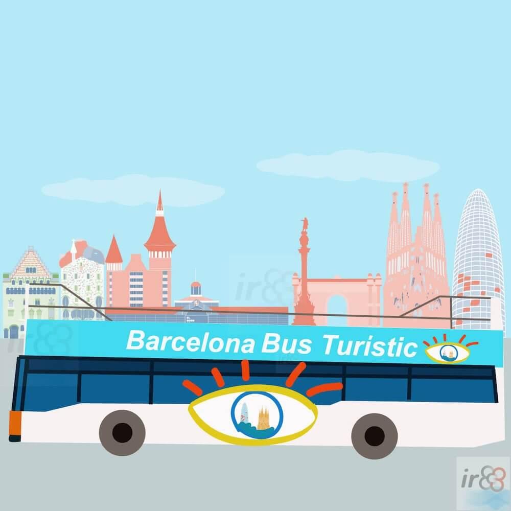 acquistare Barcelona Bus Turístic