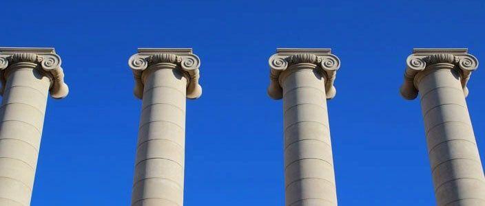 Le Quattro Colonne di Josep Puig i Cadafalch