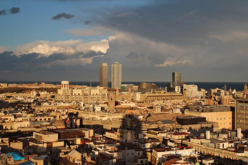 vista Torre Mapfre e Hotel Arts