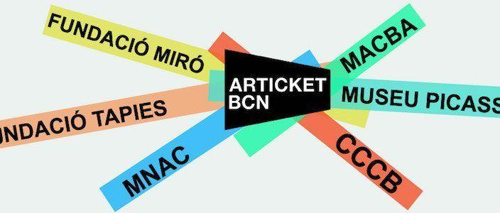 Articket BCN Barcellona Musei Arte