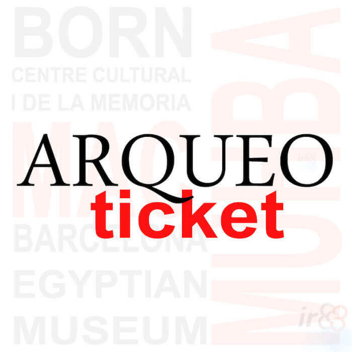 acquista Arqueo Ticket Barcellona