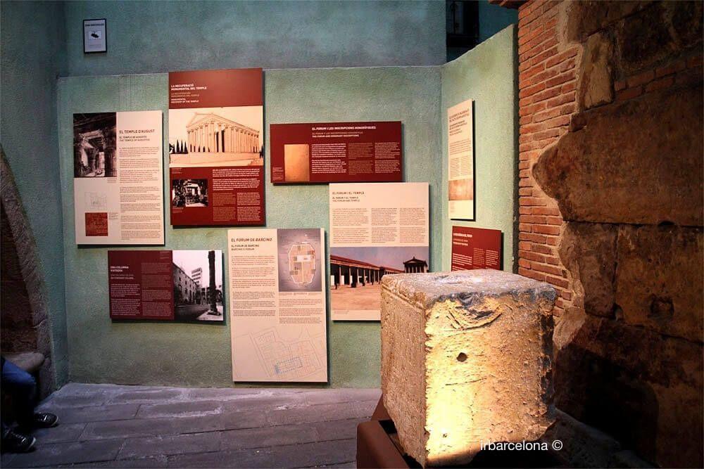 spiegazioni Tempio di Augusto