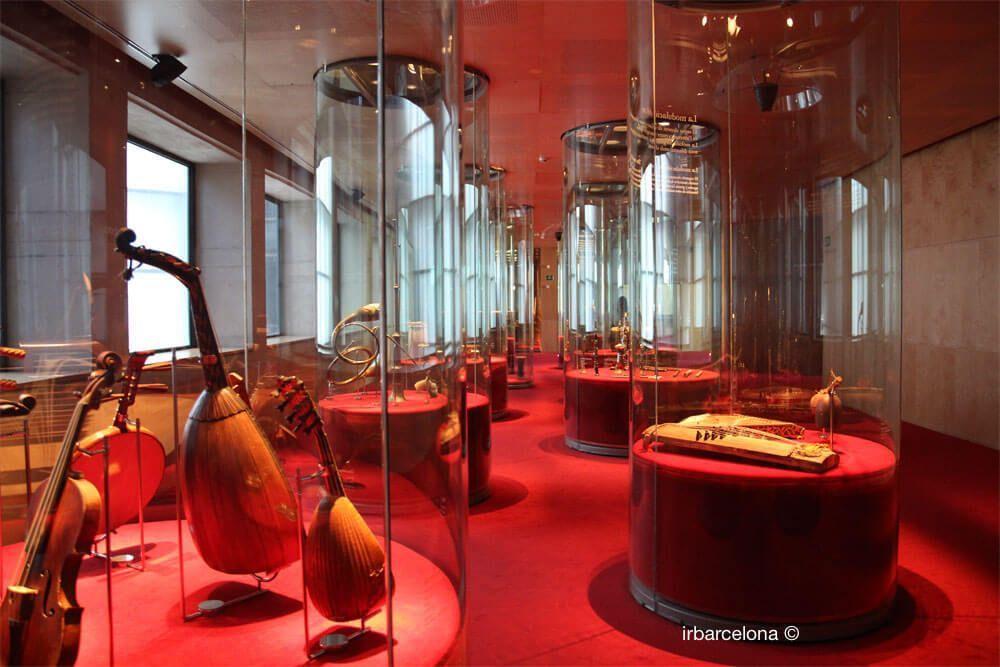 strumenti nel museo dela musica