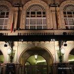 facciata Liceu di notte