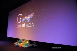 schermo Gaudí Experiència 4D