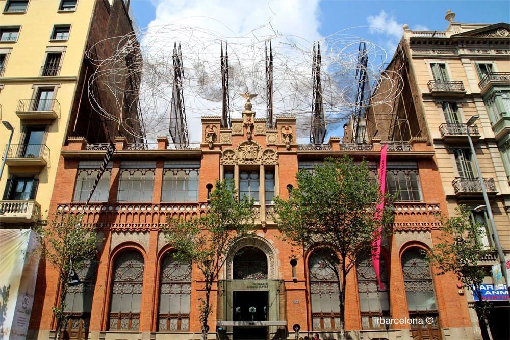 facciata Fundació Antoni Tàpies