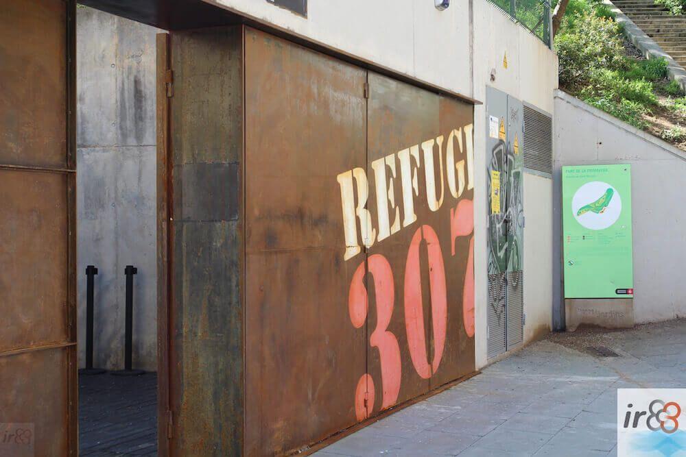 ingresso Refugio 307
