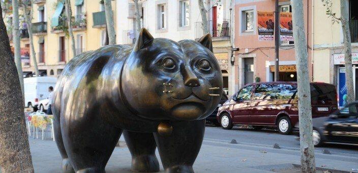 Gatto di Botero