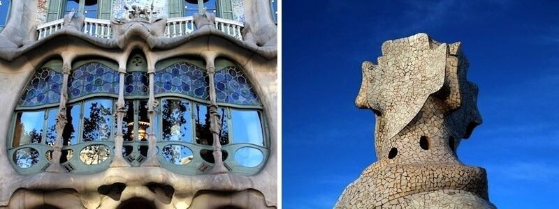 Casa Batlló et La Pedrera