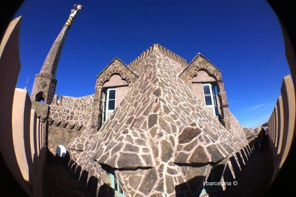 terrazza forma di drago