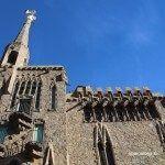 facciata Torre Bellesguard