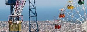 panorama di Barcellona dal Tibidabo