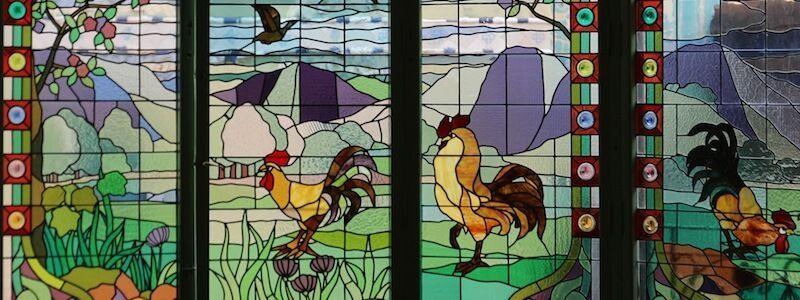 vidriera Casa Lleó i Morera