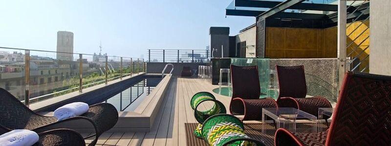 terraza Hotel Bagués
