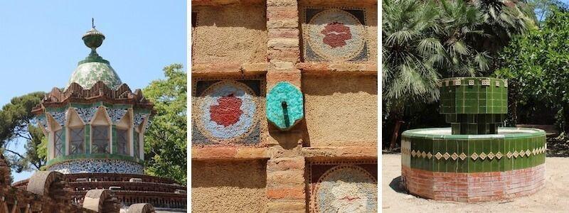 Finca Güell, padiglioni e giardini Gaudí