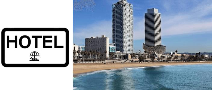 hotel a Barcellona sul mare