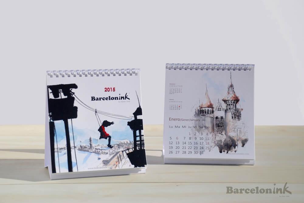 calendario Barcelonink 2015