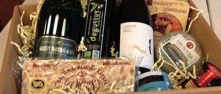 Sorteggio di un Cesto Natalizio di prodotti gourmet della Catalogna