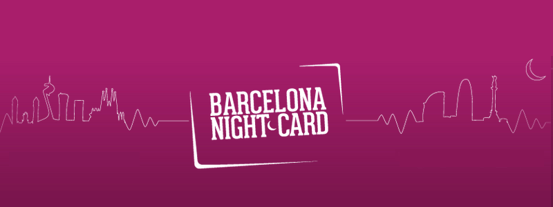 Barcelona Night Card