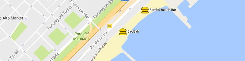 mappa Baobab