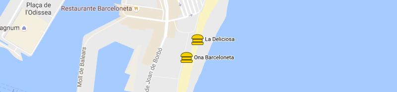 mappa La Deliciosa