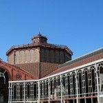 struttura in ferro Mercato Sant Antoni