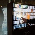 schermo multimediale The Gaudí Exhibition Center