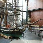 restauro di una barca