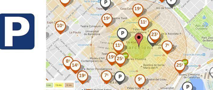 dove parcheggiare a Barcellona?