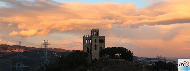 tramonto Torre del Baró