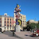 Volto di Barcellona Roy Lichtenstein
