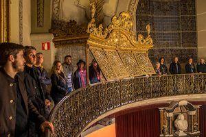 visita Reale Accademia di Medicina della Catalogna e all'Anfiteatro Anatomico