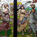 vetrata le Tre Grazie