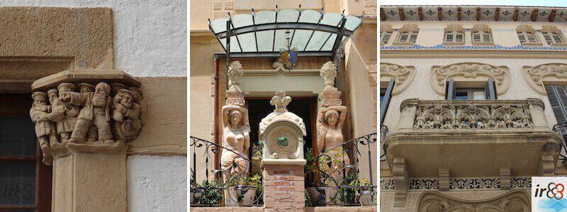 Edifici e palazzi storici Sitges
