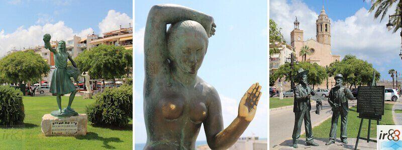 sculture urbane a Sitges