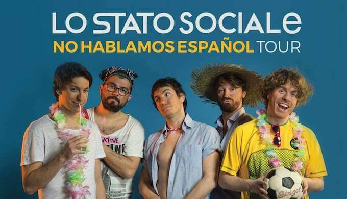 biglietti concerto Lo Stato Sociale Barcellona