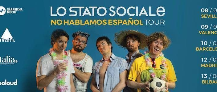 Lo Stato Sociale in concerto a Barcellona (Sala Bikini)