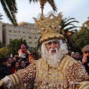 Sfilata dei Re Magi a Barcellona
