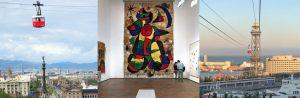 Funivia Aeri del Port + Fondazione Joan Miró